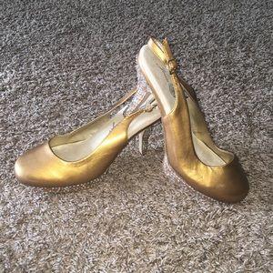 Evening wear shoes by Joan Boyce